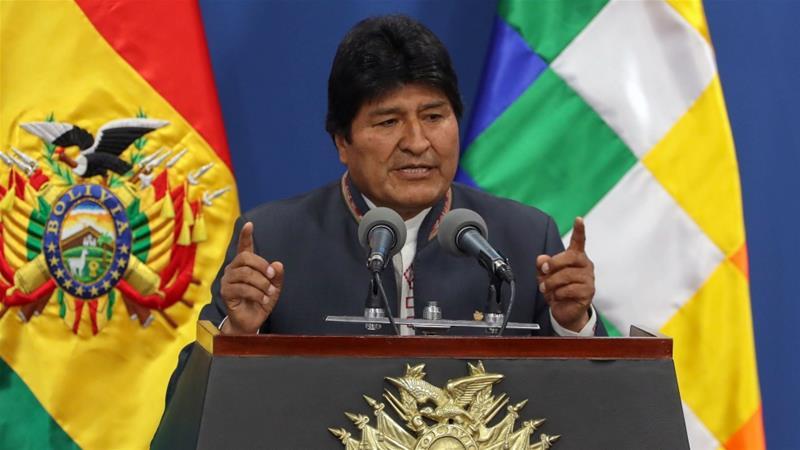 Resultado de imagem para Evo Morales renuncia ao cargo de presidente da Bolívia